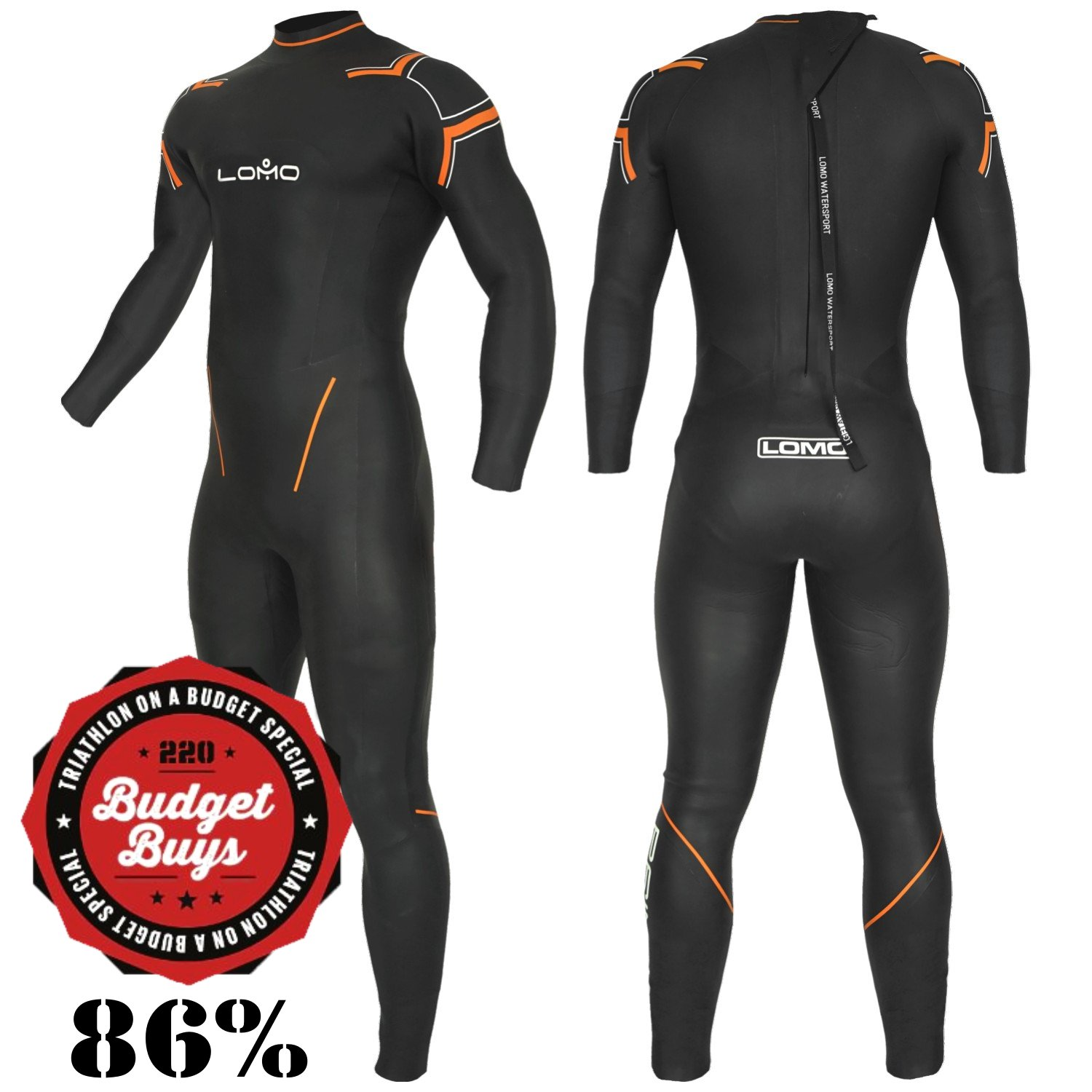 Prime Triathlon and Swimming Wetsuit - Male