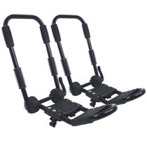 Folding Double J Bars - Kayak Roof Rack Bars