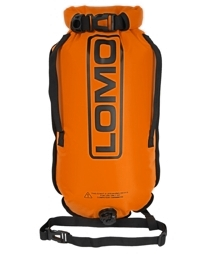 Dry Bag Swimming Tow Float - Orange